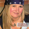 Donna Beckham CD Cover recorded at Panda Productions Nashville Tennessee Recording Studio