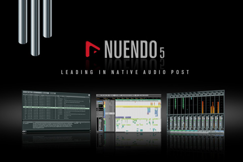 Nuendo 5 Recording Software Screen Shot